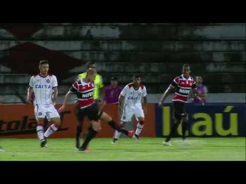 Melhores momentos  Santa Cruz 1 x 0 Atlético PR pela 25ª rodada do Brasileirão 2016 - 15/09/2016