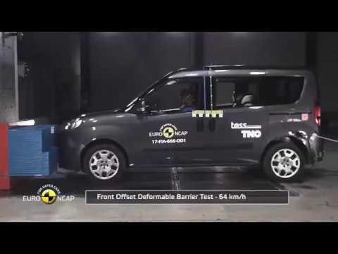 Rezillik! - Enişte Arabası Fiat Doblo Kaza Testi