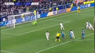 Juventus vs Atlético Madrid 3-0 Champions League - Ronaldo's 3-0. (12/03/2019)
