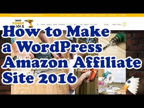 AMAZON AFFILIATE MARKETING Website with WordPress, Woocommer