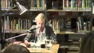 Christine Nöstlinger in der Bücherei Penzing