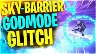 How To Get On SKY BARRIER in Fortnite & Become Invincible✔ With This Fortnite GODMODE Glitch 2019💢