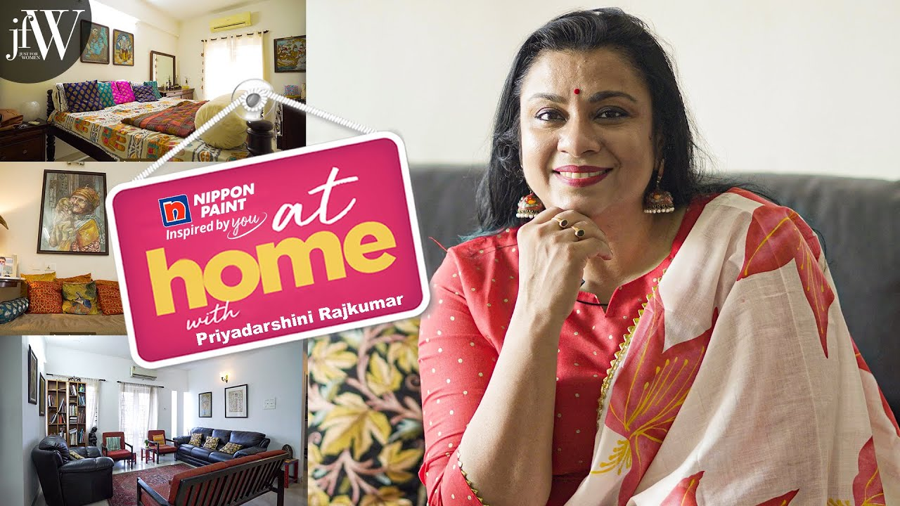 At Home with Sarpatta Missiamma Priyadharshini Rajkumar | JFW at home