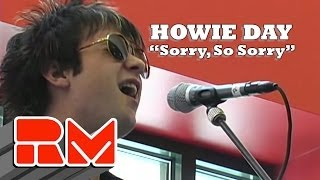 "Howie Day - ""Sorry So Sorry"" Live Acoustic (RMTV Official)"