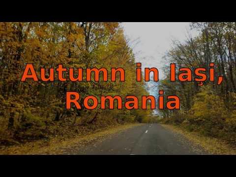 Autumn in Iasi county, Romania