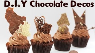 7 Chocolate Decorations - Shards, Spheres, Discs and More! | Elise Strachan