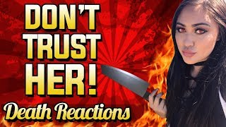 "RAGE & Funny Death Reactions On Call Of Duty ""DON'T TRUST HER!"""