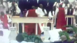 Bishop Harold Ivory Williams FUNERAL Praise Break 2014