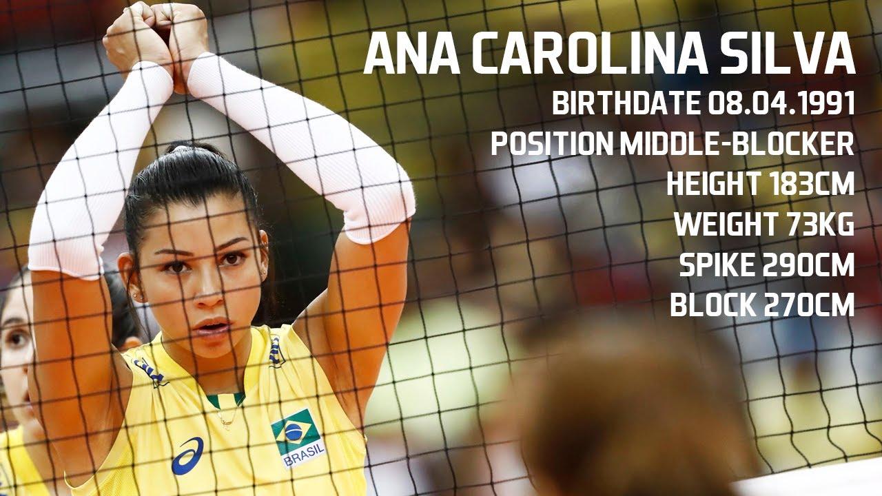 Ana Carolina da Silva - Best Middle Blocker   World Grand Champions Cup 2017  