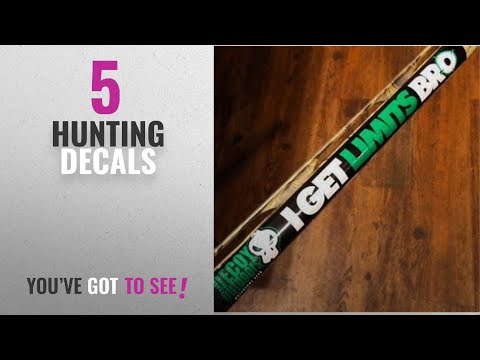 Top 10 Hunting Decals [2018]: Decoy Outdoors