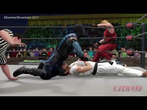 UGW Summer Showdown 2017  - Part 8 - Scorpion & Sub Zero vs Ryu & Ken