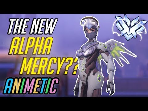 Top 10 anime air battles: Animetic loses alpha Mercy to a Genji in Mercy's clothing? - Overwatch