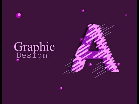 How To Create Graphic Design - Adobe Illustrator - Tutorial - Step By Step thumbnail