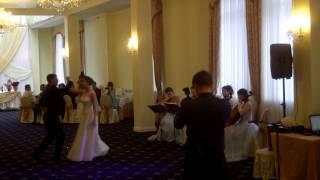 """Первый танец молодых. Свадьба в стиле """"бал"""". Живая музыка на свадьбу. Вальс Анастасия"""