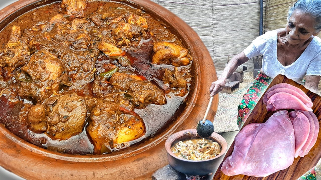Download Black Chicken Curry - Chicken Kalupol Curry by Grandma Menu