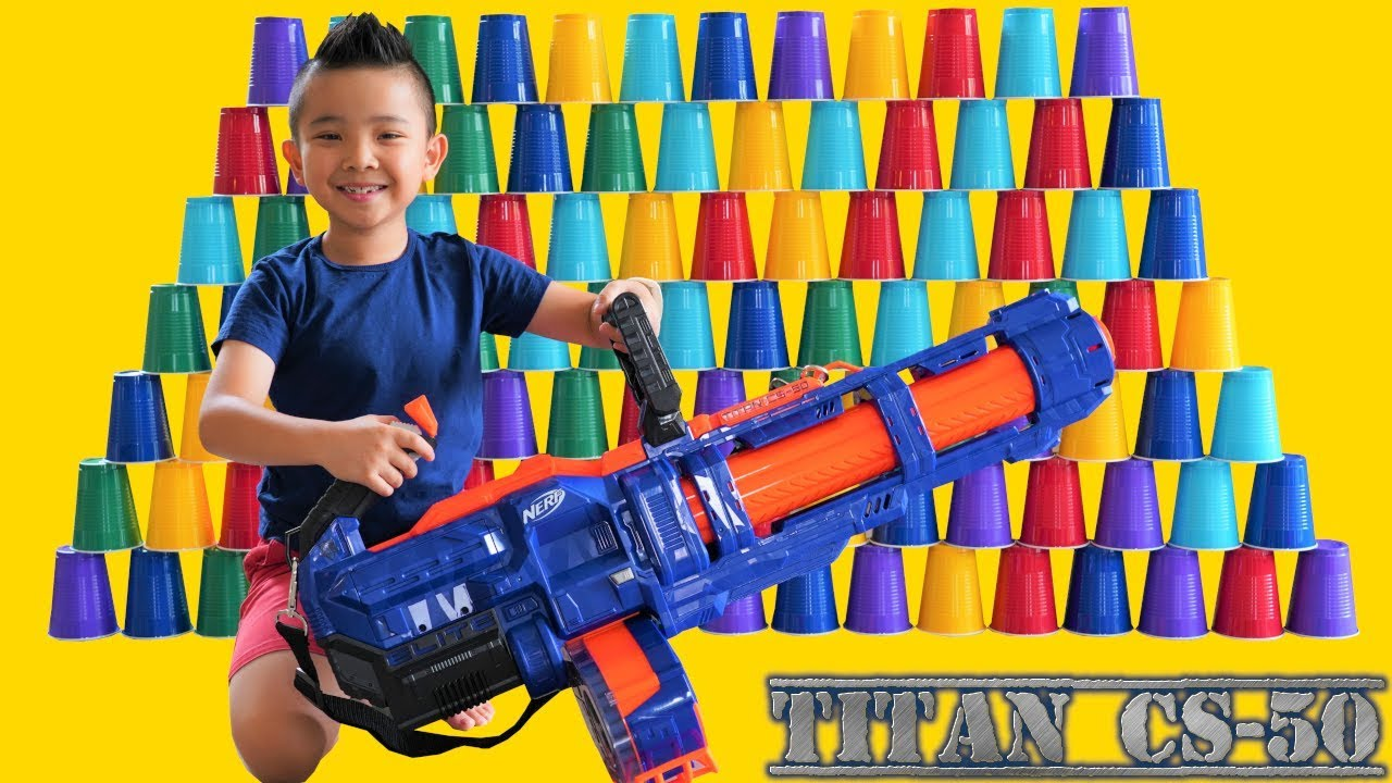 BIGGEST NERF EVER Titan CS-50 CKN Toys