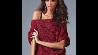 Вязание Джемпера Спицами для Женщин - 2019 / Knitting Spokes Sweaters For Women /Stricken Pullover
