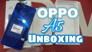 OPPO A5 unBoxing (Diamond Blue) in urdu/hindi - (28,000 Rs) - iTinbox