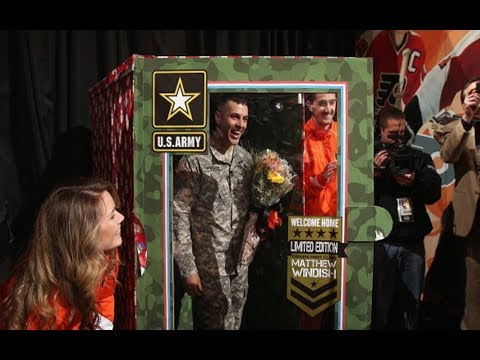 NHL: Military Homecoming Surprises