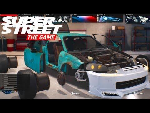 SuperStreet The Game : Career Mode Ep 3 NEW Build - Honda Civic Sleeper | SLAPTrain