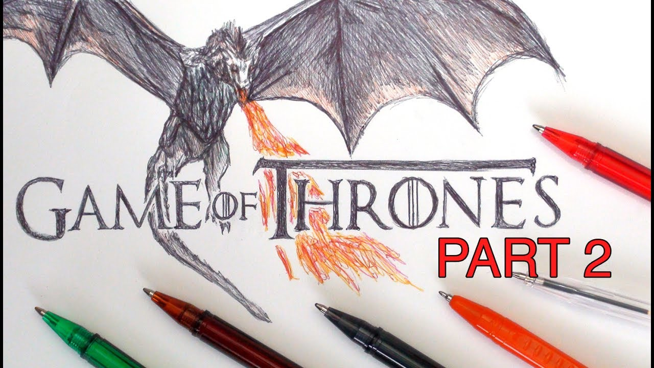 SKETCH SUNDAY #35 How To Draw The Game Of Thrones Logo ...