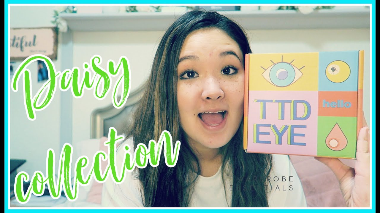 Ttdeye Daisy Collection Unboxing Youtube Hi, i'm daisy brown 林恬恬, a mixed american and taiwanese media personality. ttdeye daisy collection unboxing