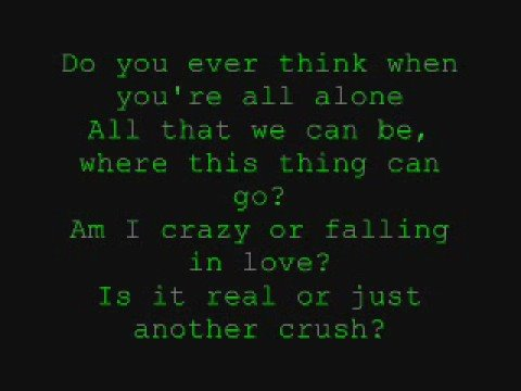 David Archuleta - Crush - With Lyrics