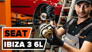 Vgradnja Komplet (kit) zobatega jermena SEAT AROSA (6H): brezplačen video