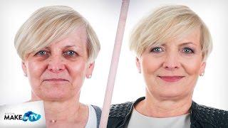 Metamorfoza MakeupTV - Joanna - jak wykonać makijaż wieczorowy dla skóry dojrzałej?