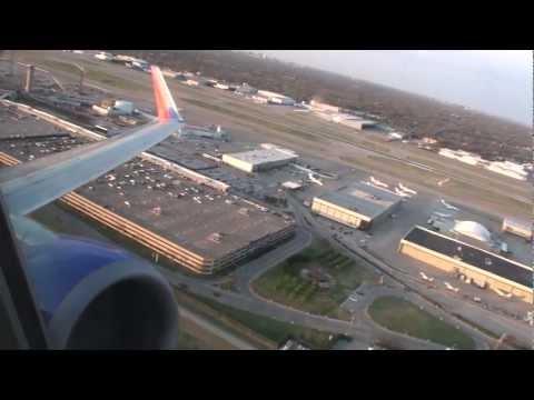Powerful Thrust Increase!!!  Beautiful Sunset HD 737 Takeoff From Dallas Love Field!!!