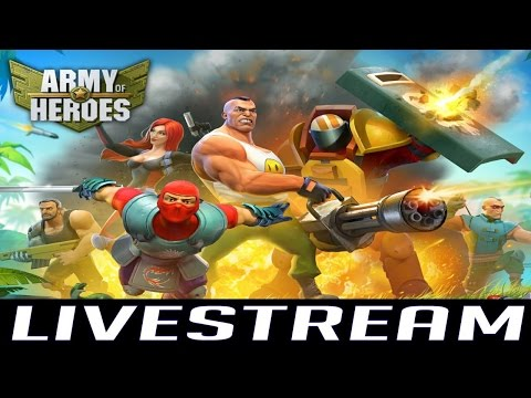 Army of Heroes (by Plamee Tech (Cy) LTD) - iOS / Android - HD LiveStream