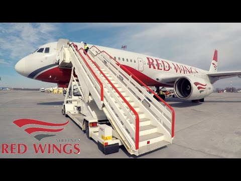FLIGHT REPORT / REDWINGS TUPOLEV 204 / SIMFEROPOL - ST PETERSBURG