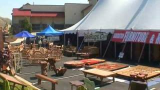 World Bazaar, Park City, Utah. September 09, Rug & Furniture Tent Liquidation Sale!