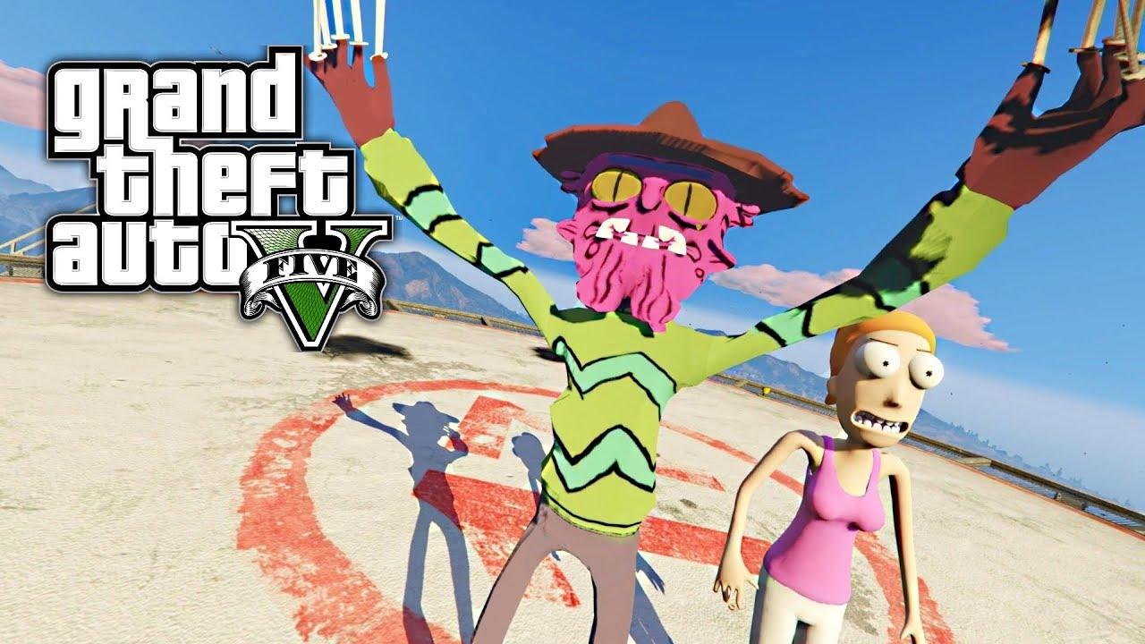 Grand Theft Auto: Rick y Morty (GTA 5 RICK & MORTY