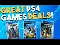 8 GREAT PS4 Game Deals Available RIGHT NOW! (Best Playstation 4 Game Deals)