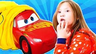 Wash of Disney Cars Lightning McQueen