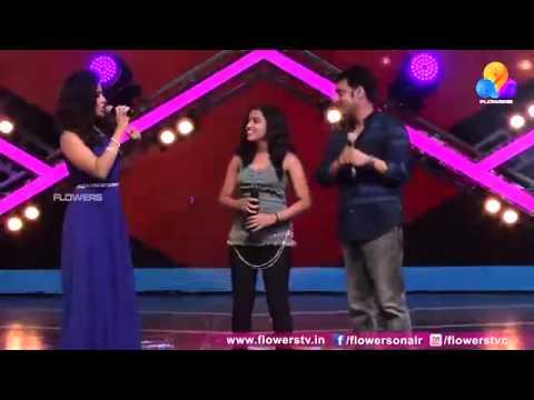 Anamika.P.S. Singing Kamli in Indian Music League.....