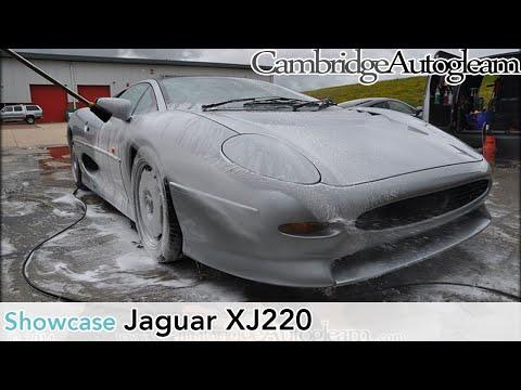 Jaguar XJ220 - Full Correction Detail by Cambridge Autogleam
