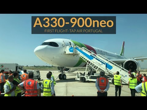Airbus A330-900neo TAP Air Portugal - PRIMEIRO VOO! Toulouse-Lisboa