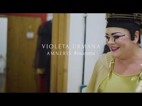 Violeta Urmana | Amneris #inarena - Arena di Verona 2017