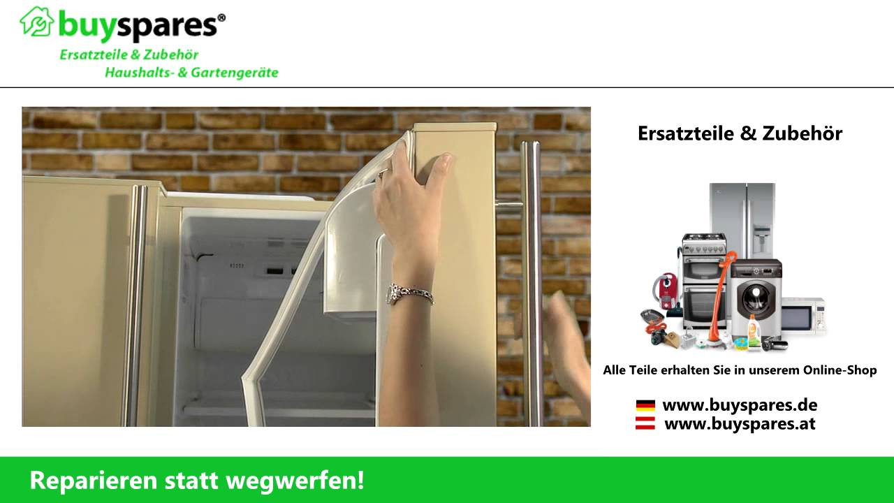 Kühlschrank Türdichtung : Anleitung: kühlschrank dichtung richtig ersetzen youtube