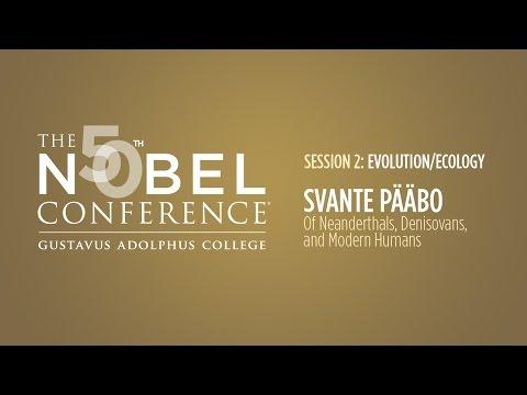 Svante Pääbo at Nobel Conference 50