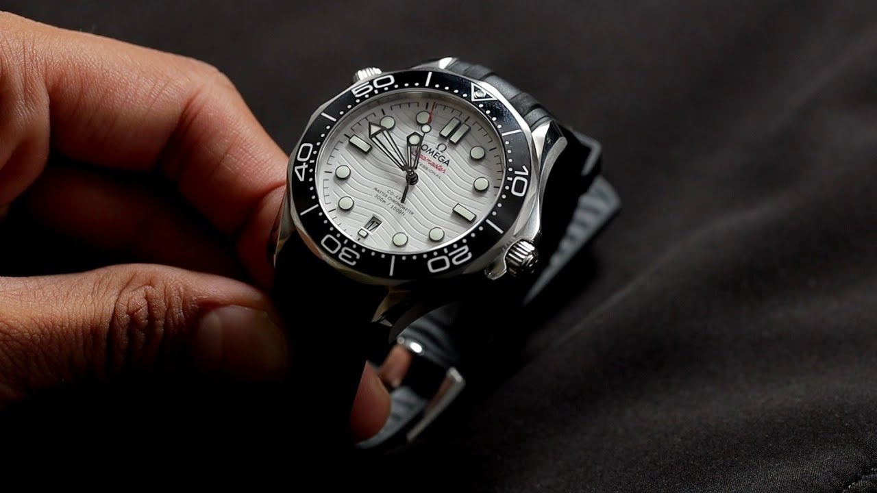 Could This Be The Perfect Dive Watch? | Hands On New Omega White Seamaster