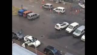 #SON DAKIKA! İzmir'deki Patlama Ve Çatışma Görüntüleri!! Teröristin Vurulma Ani