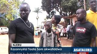 Kazannyirizi Taata Sam akwatiddwa. thumbnail
