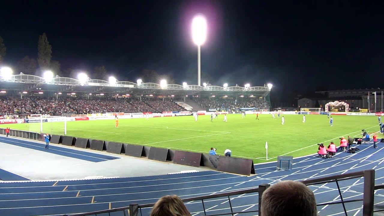16 lask linz blau weiss linz stadion panorama youtube