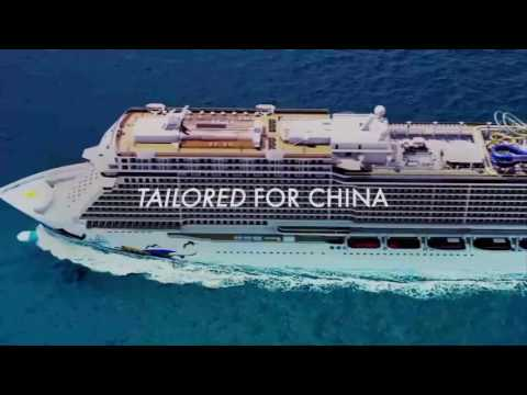 Cruise Ships designed for Chinese market