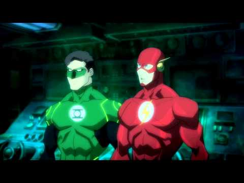 Green Lantern Trolls Flash
