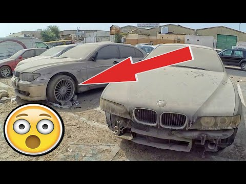 Dubai abandoned BMW