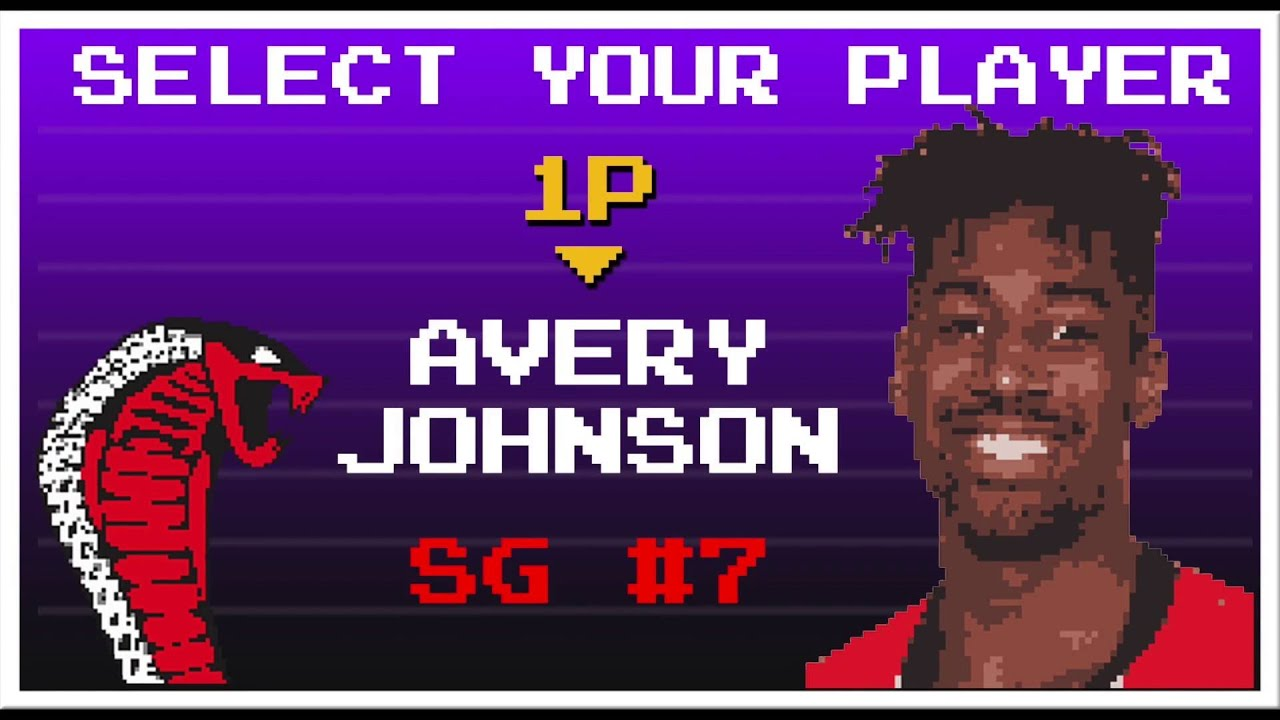 Avery Johnson Activates NBA Jam Mode